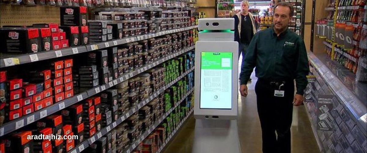 ربات های تحویل خودکار در فروشگاه